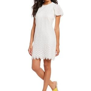 A Loves A embroidered lace a line dress
